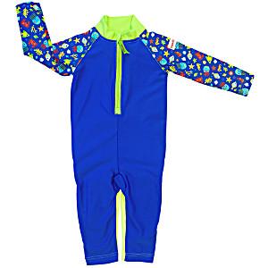 Детский купальный костюм ImseVimse Морская Жизнь синий
